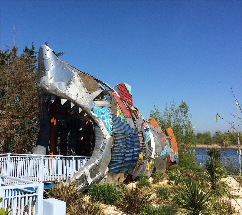 THE SHARK HOTEL THORPE PARK 2017