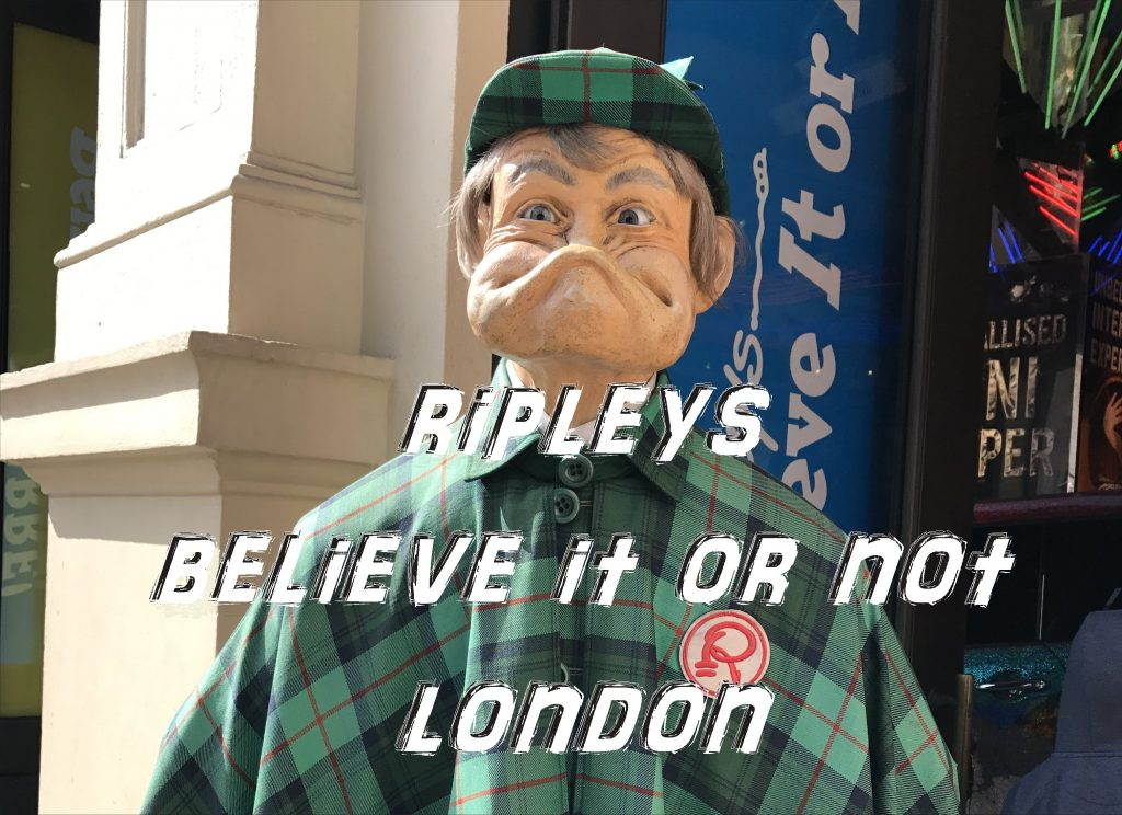 Ripley's Believe it or Not London 2017