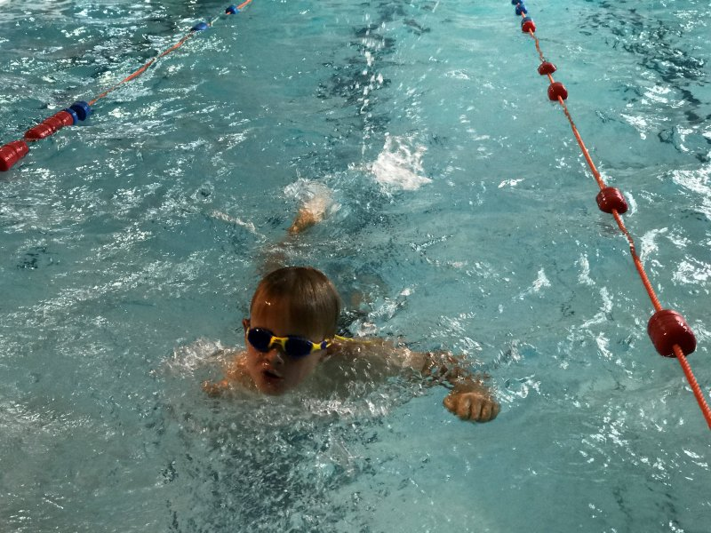 swimming Junior Triathlon