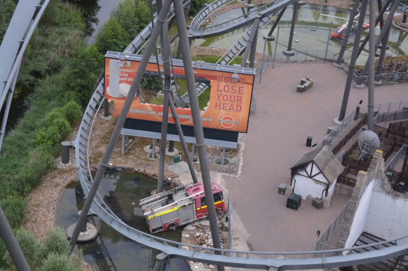 Thorpe Park Resort VIP Coaster Climb of THE SWARM