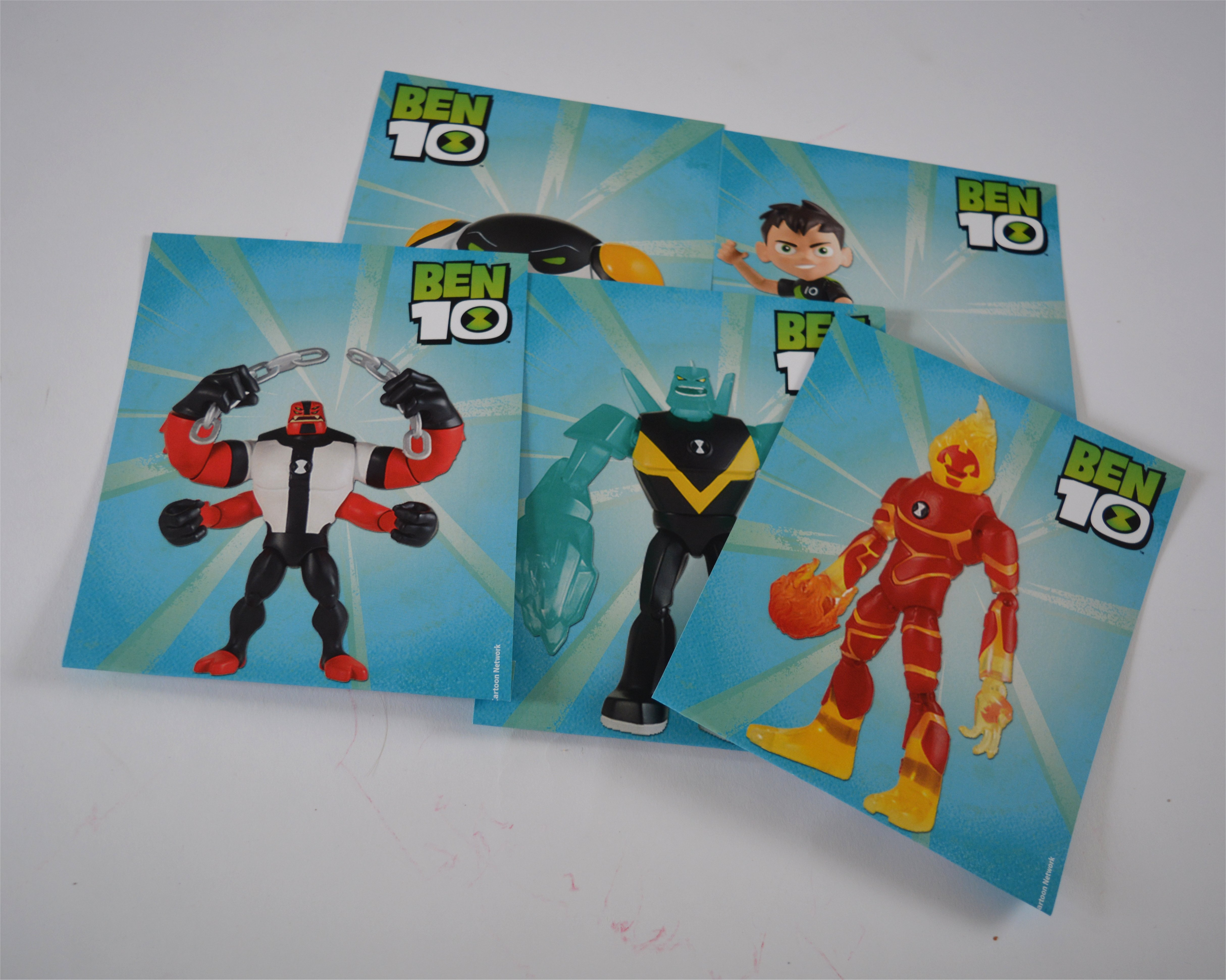 Ben10 Character Cards