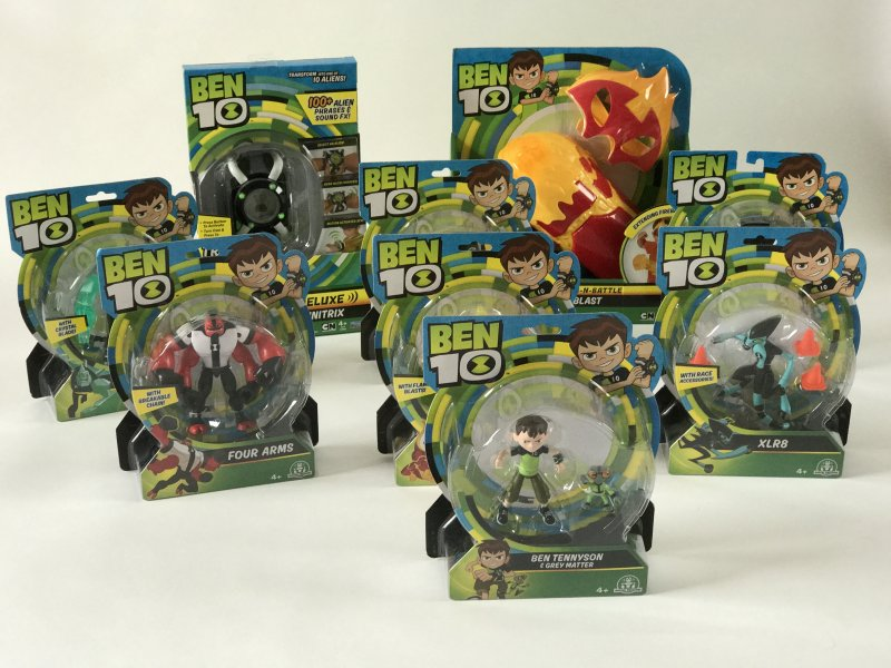 Ben10 Party Celebrating New Toy Range from Flair