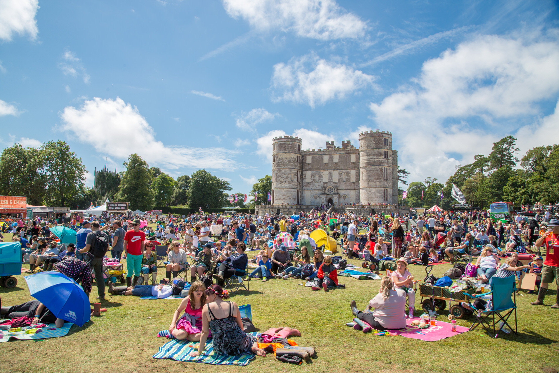 Camp Bestival 2017 Castle and Crowds