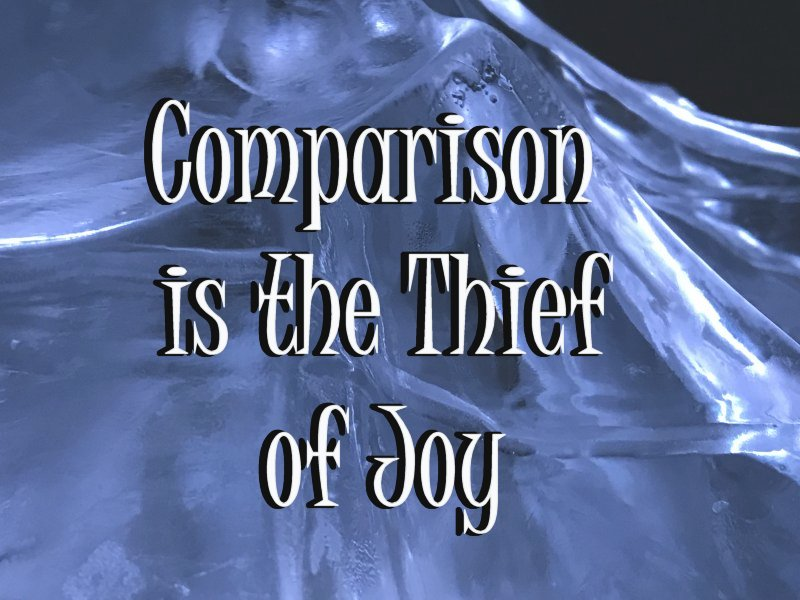 comparison is the thief of joy on ice