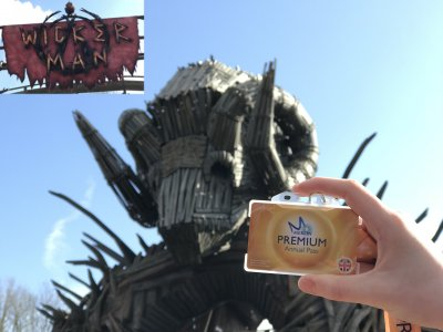 Wickerman Ride Alton Towers Merlin Premium Annual Pass