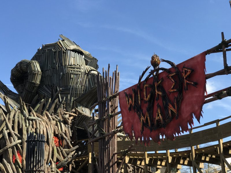 Wickerman Ride Alton Towers