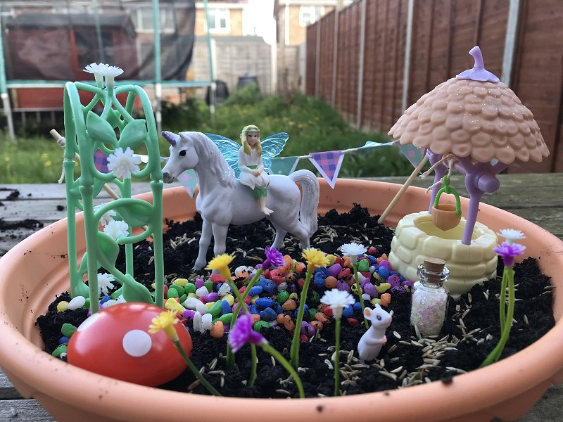 unicorn garden home education