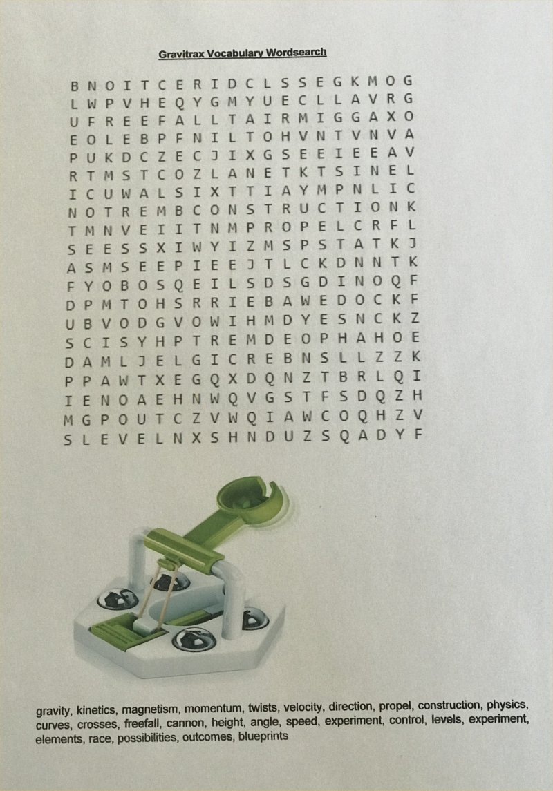 gravitrax wordsearch