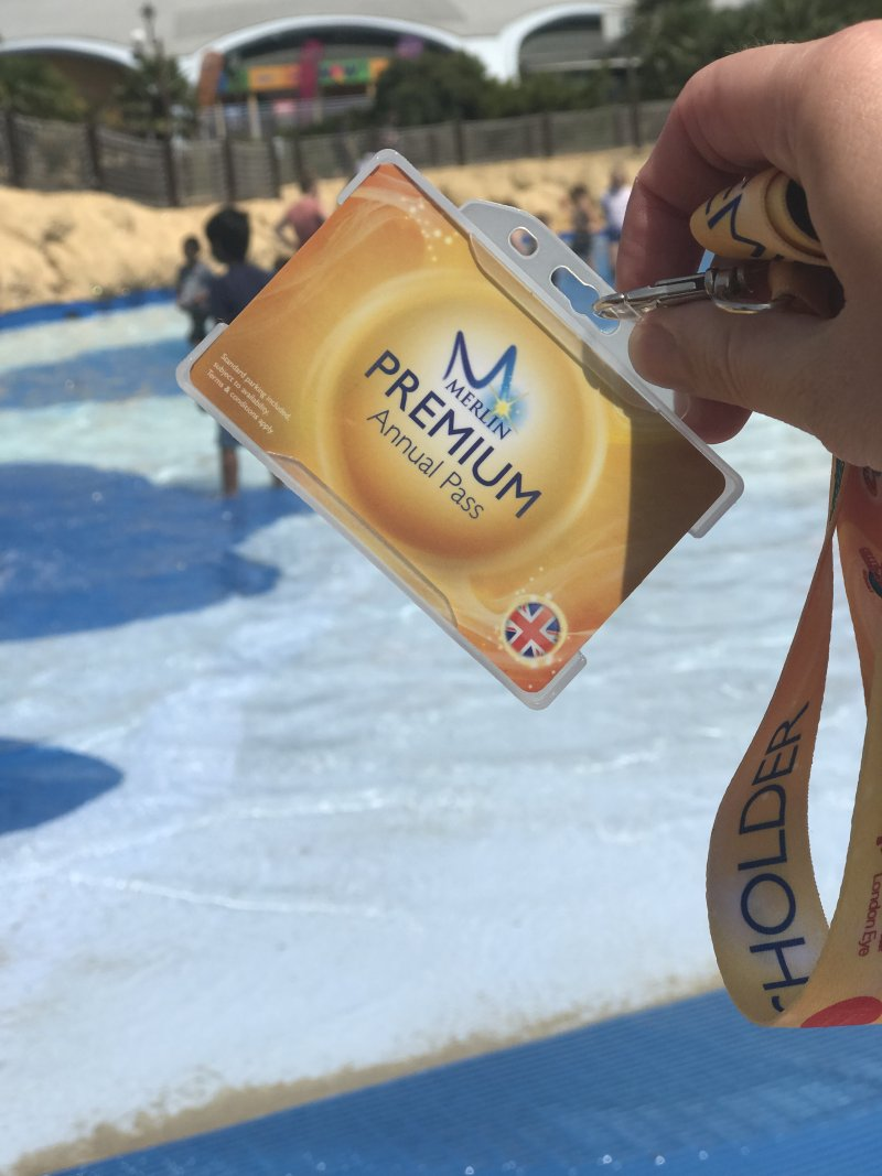 Merlin Premium Annual Pass at Amity Beach Thorpe Park Resort