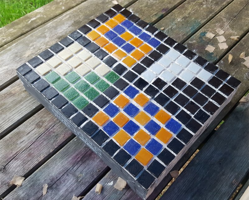 mosaic square craft
