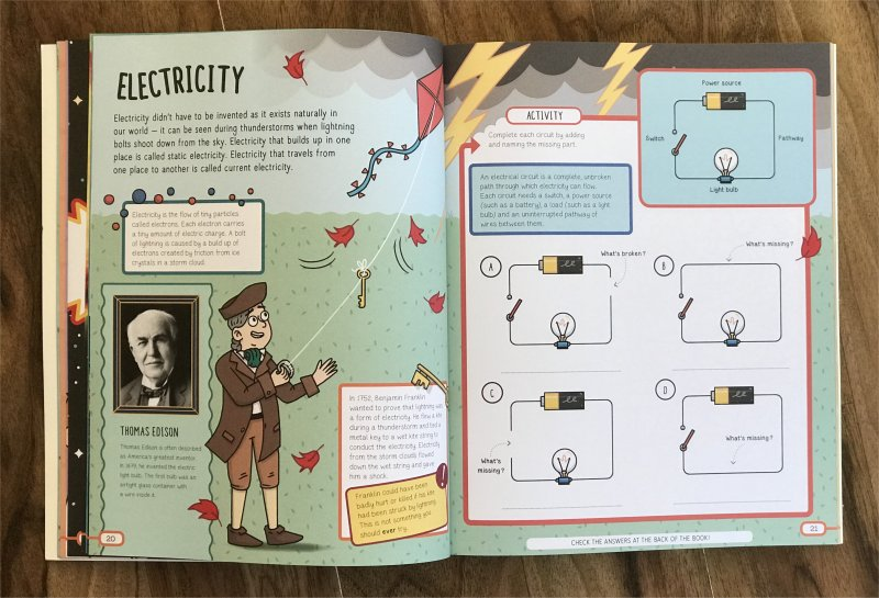 book sensational science electricity