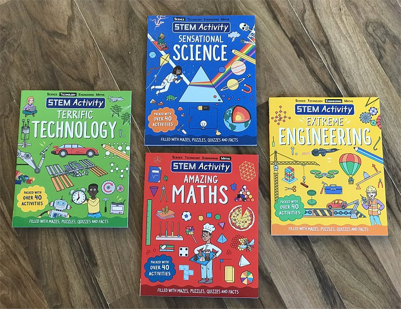 Carlton Kids STEM Activity Books