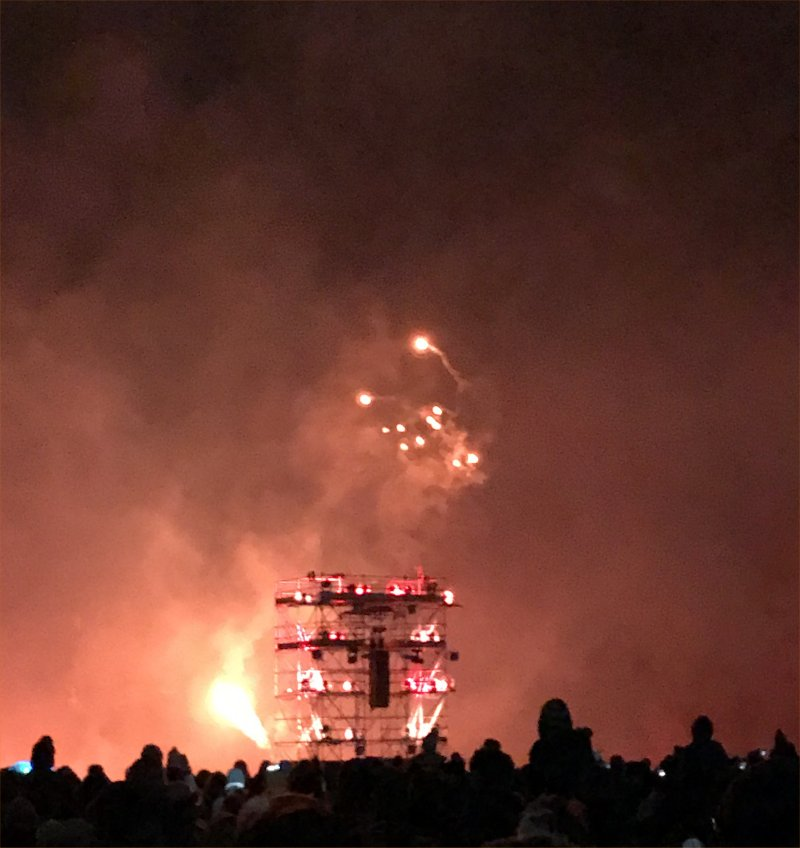 wickerman fireworks at Alton Towers