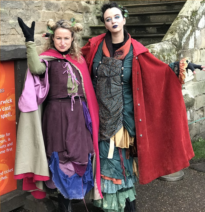 witches at warwick castle