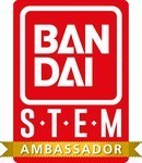 Bandai STEM Ambassador badge