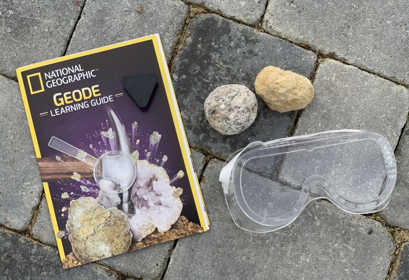 National Geographic Geodes box and contents