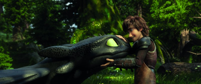 Hiccup and Toothless How to Train Your Dragon: The Hidden World