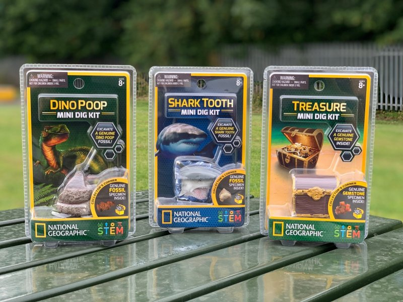 National Geographic™ STEM Mini Digs Review